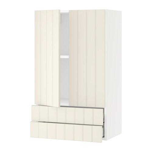 sektion armoire murale 2portes 2tiroirs blanc hittarp blanc cass 24x15x40 ikea. Black Bedroom Furniture Sets. Home Design Ideas