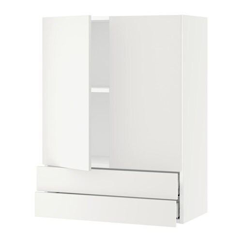 sektion armoire murale 2portes 2tiroirs blanc h ggeby blanc 30x15x40 ikea. Black Bedroom Furniture Sets. Home Design Ideas