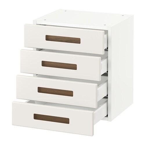 sektion armoire murale 4 tiroirs blanc m rsta blanc 18x15x20 ikea. Black Bedroom Furniture Sets. Home Design Ideas
