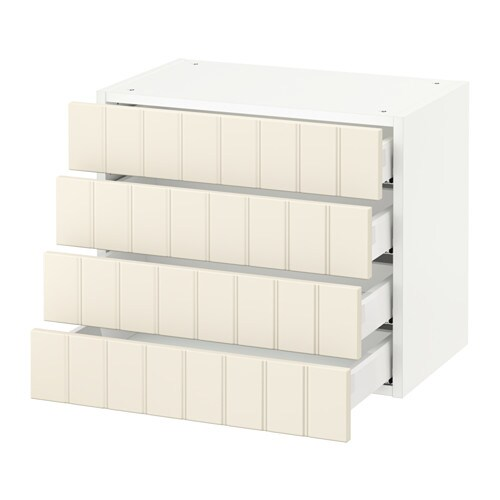 sektion armoire murale 4 tiroirs blanc hittarp blanc cass 24x15x20 ikea. Black Bedroom Furniture Sets. Home Design Ideas