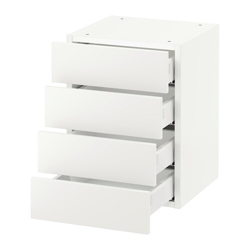 sektion armoire murale 4 tiroirs blanc h ggeby blanc 15x15x20 ikea. Black Bedroom Furniture Sets. Home Design Ideas