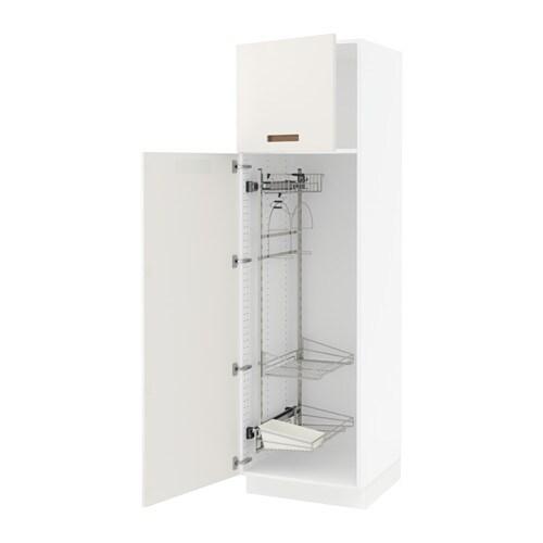 Sektion armoire rangement coulissant blanc m rsta blanc 24x24x80 - Rangement coulissant cuisine ikea ...