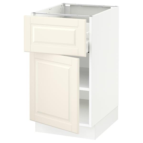 "SEKTION / MAXIMERA Armoire inférieure av tiroir/porte, blanc/Bodbyn blanc cassé, 18x24x30 """