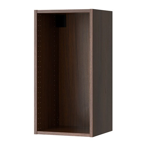 sektion struct armoire murale effet bois brun 15x14 3 4x30 ikea. Black Bedroom Furniture Sets. Home Design Ideas