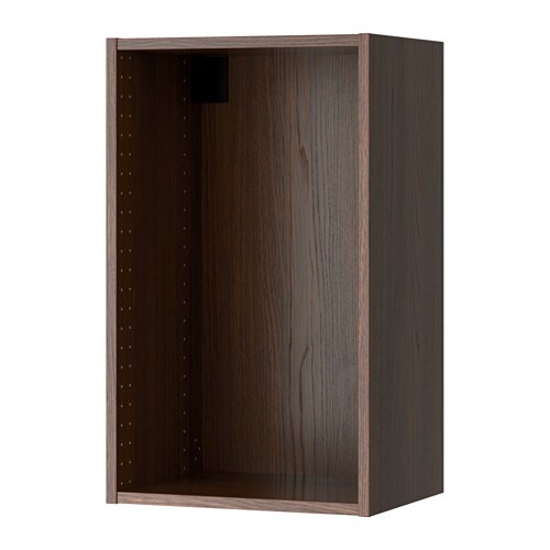 sektion struct armoire murale effet bois brun 18x14 3. Black Bedroom Furniture Sets. Home Design Ideas