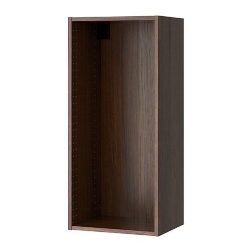 Sektion struct armoire murale effet bois brun 18x14 3 for Armoire murale cuisine