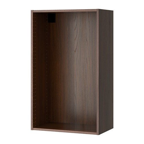 sektion struct armoire murale effet bois brun 24x14 3 4x40 ikea. Black Bedroom Furniture Sets. Home Design Ideas