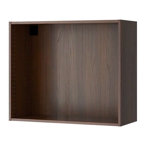 sektion struct armoire murale effet bois brun 36x14 3 4x30 ikea. Black Bedroom Furniture Sets. Home Design Ideas