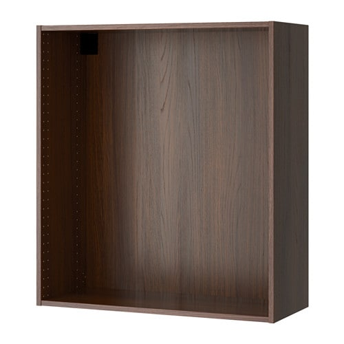 sektion struct armoire murale effet bois brun 36x14 3 4x40 ikea. Black Bedroom Furniture Sets. Home Design Ideas