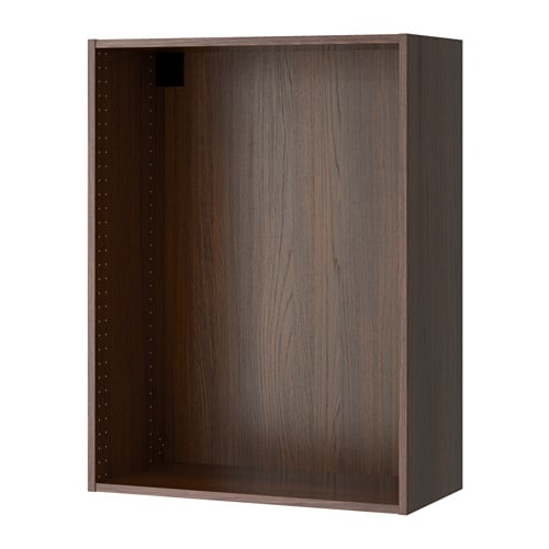 sektion struct armoire murale effet bois brun 30x14 3 4x40 ikea. Black Bedroom Furniture Sets. Home Design Ideas
