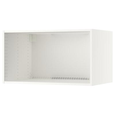 """SEKTION Structure surmeuble réfrig/four, blanc, 36x24x20 """""""