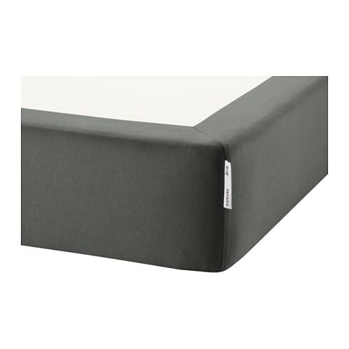 ESPEVÄR Sommier tapissier pour str de lit, gris foncé