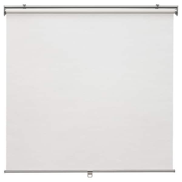 "SKOGSKLÖVER Store à enrouleur, blanc, 36x76 ¾ """