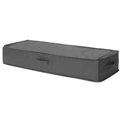 """SKUBB Rangement pour papier cadeau, gris foncé, 35 ½x11 ¾x6 """""""