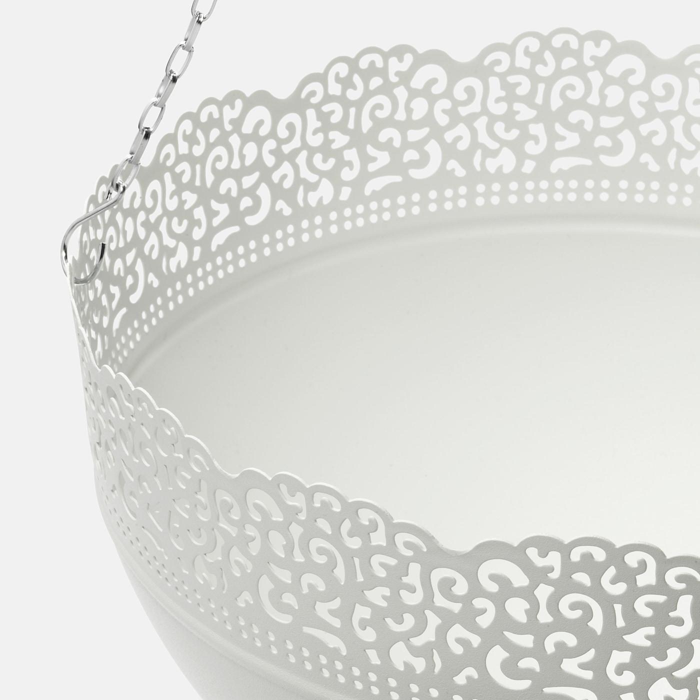 """Jardinière À Suspendre Ikea skurar jardinière à suspendre - intérieur/extérieur, blanc 11 ¾ """" (30 cm)"""