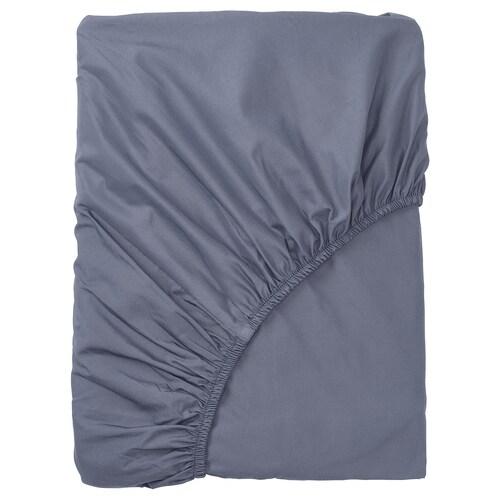 """SÖMNTUTA drap-housse gris-bleu 400 pouces carrés 80 """" 60 """" 18 """""""