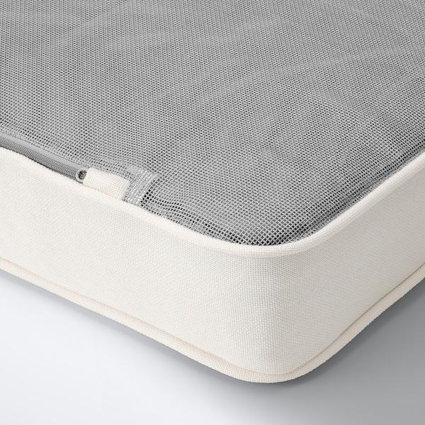 "SOLLERÖN Canapé modulaire, extérieur, brun/Järpön/Duvholmen blanc, 87 3/4x32 1/4x35 3/8 """