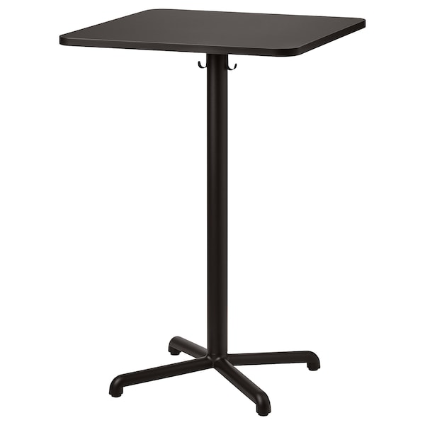 STENSELE Table haute, anthracite/anthracite, 27 1/2x27 1/2 ""