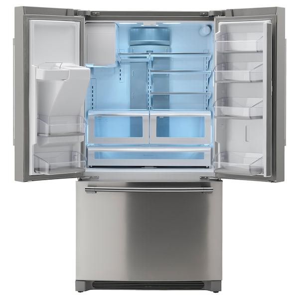STJÄRNSTATUS Réfrigérateur 2 portes, acier inox, 21.7 cu.ft