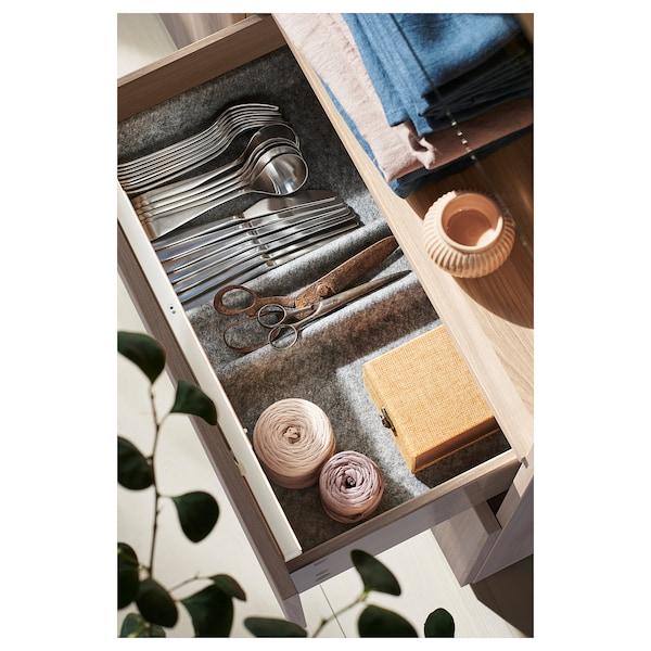 """STÖTTA Baguette lum DEL pr armoire+capteur, à pile blanc, 20 """""""