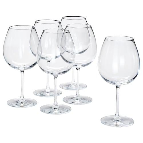 """STORSINT verre à vin rouge verre clair 9 """" 23 oz 6 pièces"""