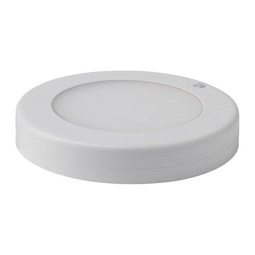 STÖTTA Suspension/applique DEL, à pile blanc à pile blanc -