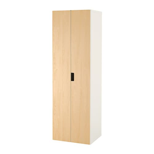 Stuva armoire penderie blanc bouleau ikea - Tringle penderie ikea ...