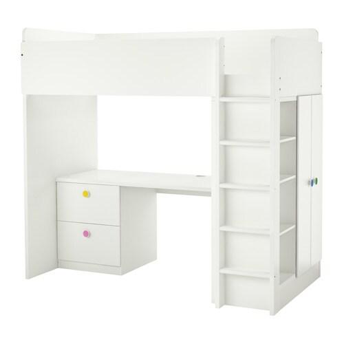 stuva f lja lit mezzanine 2 tiroirs 2 portes ikea. Black Bedroom Furniture Sets. Home Design Ideas