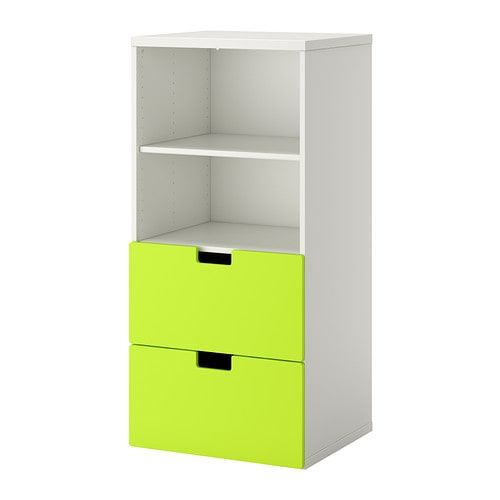 Stuva meuble de rangement blanc vert ikea for Rangement petit espace ikea