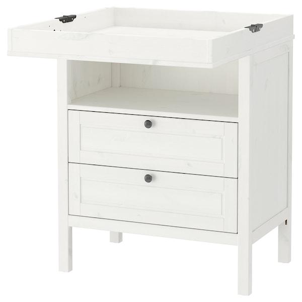 Sundvik Table A Langer Commode Blanc Ikea
