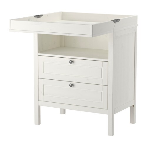 sundvik table langer commode blanc ikea. Black Bedroom Furniture Sets. Home Design Ideas