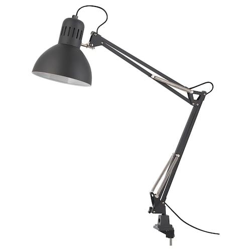 """TERTIAL lampe de travail gris foncé 13 W 7 """" 4 ' 11 """""""