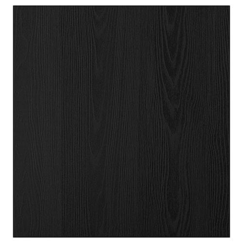 "TIMMERVIKEN porte noir 23 5/8 "" 25 1/4 "" 3/4 """