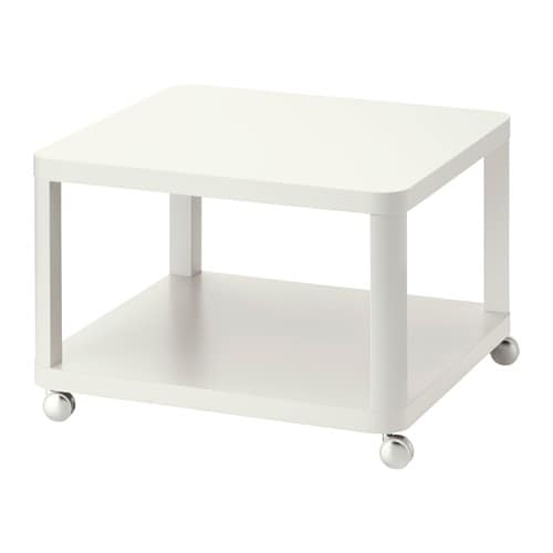 Tingby table d 39 appoint roulettes ikea for Ikea besta table d appoint