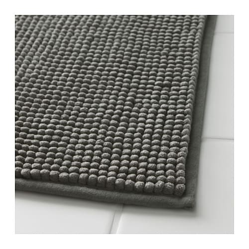 TOFTBO Bath mat, gray