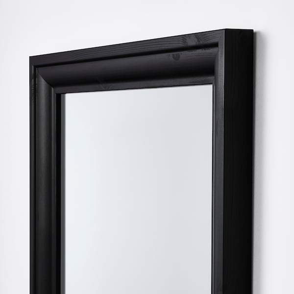 """TOFTBYN Miroir, noir, 29 1/2x65 """""""
