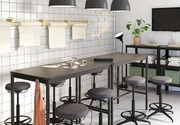 """TOMMARYD Table, anthracite, 51 1/8x27 1/2x41 3/8 """""""