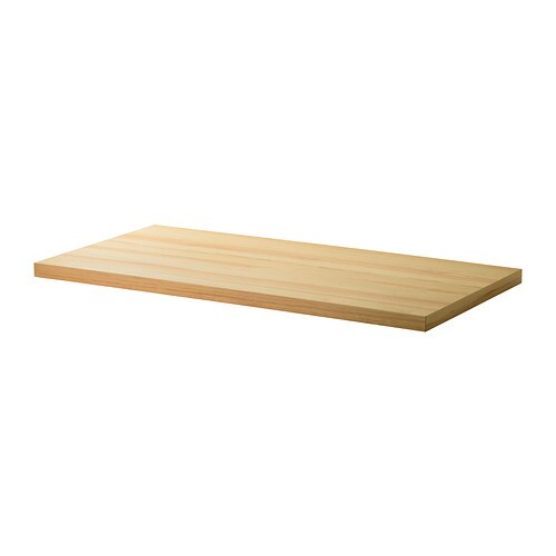 Tornliden plateau de table pin plaqu 150x75 cm ikea - Ikea plateau de table ...