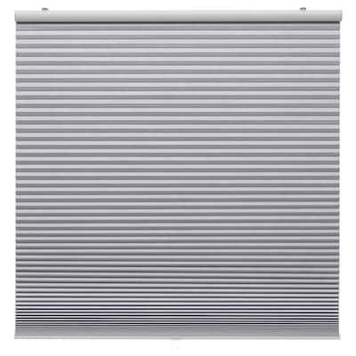 """TRIPPEVALS Store alvéolaire opaque, gris clair, 52x76 ¾ """""""