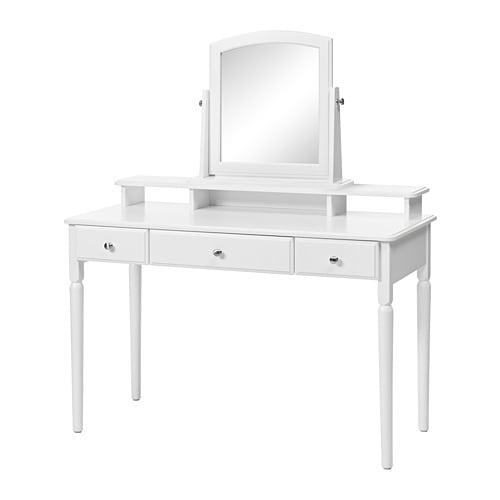 tyssedal coiffeuse avec miroir ikea. Black Bedroom Furniture Sets. Home Design Ideas
