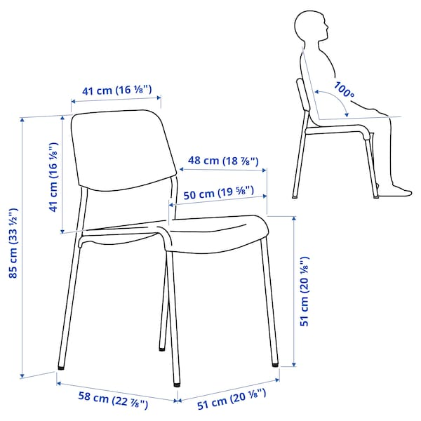 UDMUND Chaise, brun/Viarp beige/brun