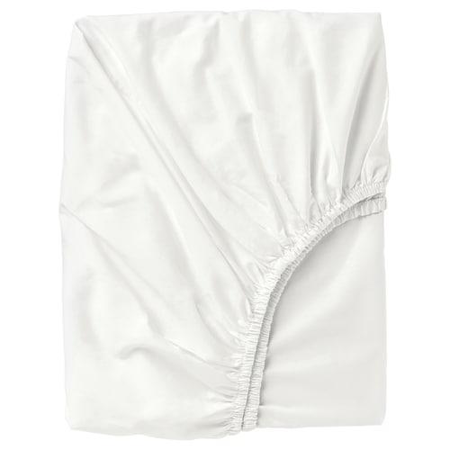 """ULLVIDE drap-housse blanc 200 pouces carrés 80 """" 60 """" 15 """""""
