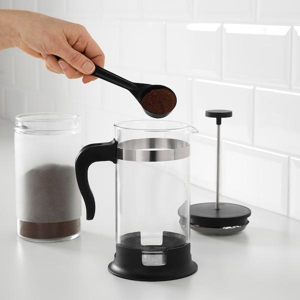 UPPHETTA Cafetière/théière, verre/acier inox, 34 oz