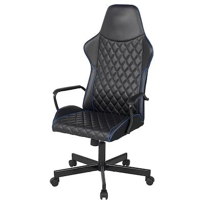 UTESPELARE Chaise de jeux, Bomstad noir