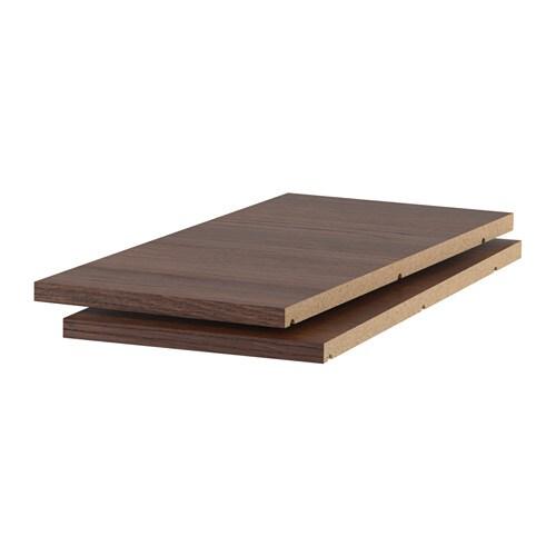 utrusta tablette effet bois brun 12x24 ikea. Black Bedroom Furniture Sets. Home Design Ideas