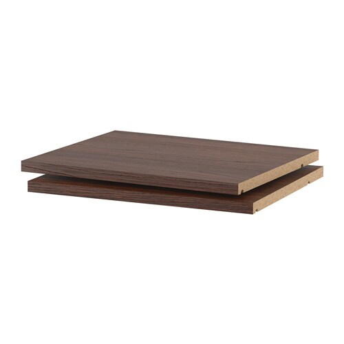 utrusta tablette effet bois brun 18x14 3 4 ikea. Black Bedroom Furniture Sets. Home Design Ideas