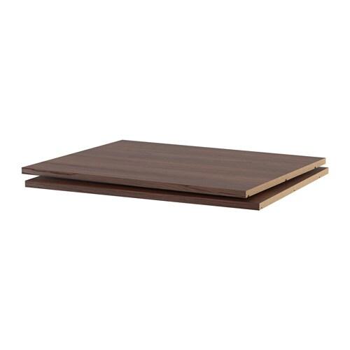 utrusta tablette effet bois brun 30x24 ikea. Black Bedroom Furniture Sets. Home Design Ideas