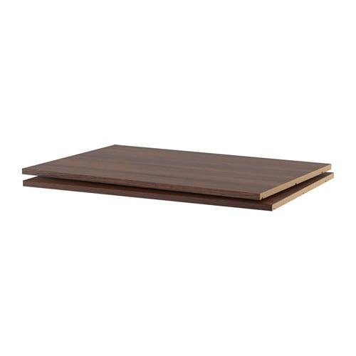 utrusta tablette effet bois brun 36x24 ikea. Black Bedroom Furniture Sets. Home Design Ideas
