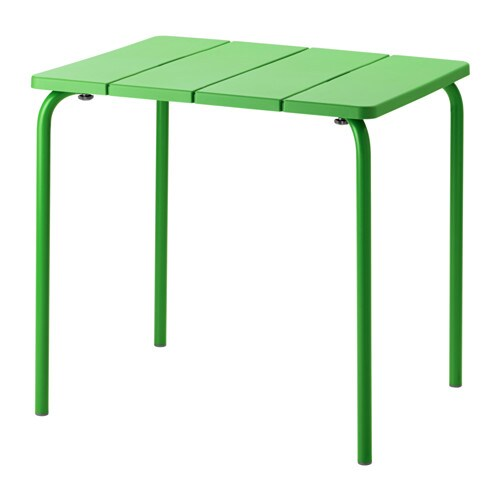 v dd table ext rieur vert ikea. Black Bedroom Furniture Sets. Home Design Ideas
