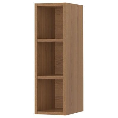"""VADHOLMA Rangement ouvert, brun/frêne teinté, 9x14 3/8x30 """""""